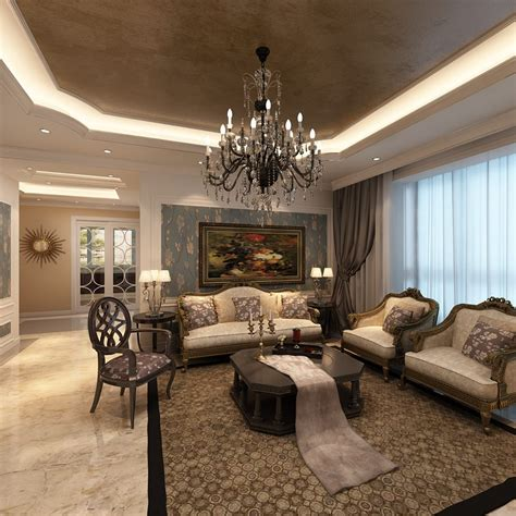 Elegant Livingrooms | elegant living room photoreal 3d model max cgtrader com