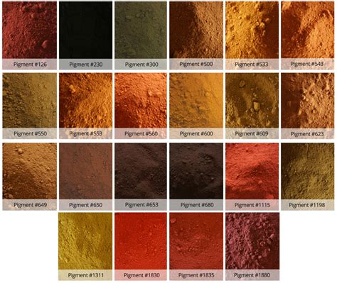 color of iron color stucco and plaster with dci concrete pigment