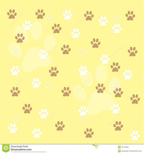 paw prints background royalty free stock images image