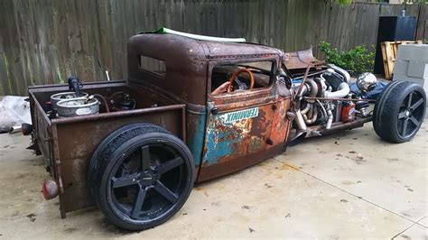 imagenes de pick up hot rod 1931 ford model a rat rod pickup with a 2jz engine swap
