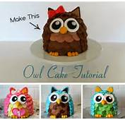 Owl Cakes On Pinterest  Cupcakes Cute And