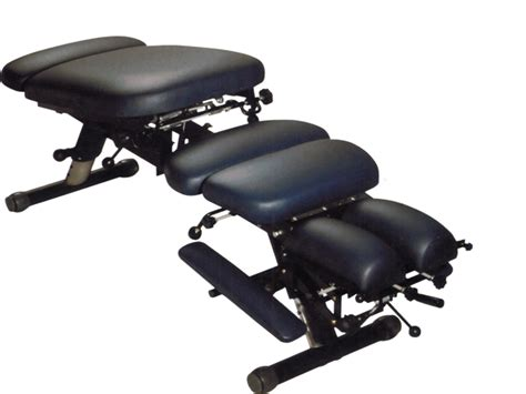 portable folding chiropractic table iron 280 black