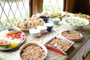 baby shower brunch buffet menu ideas 2 wall decal