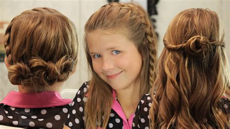 Girl Hairstyles Quick | 5 cute hairstyles for girls style samba