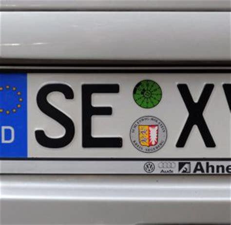 Motorrad Von Deutschland Nach Frankreich Ummelden by Welche Witzige Autokennzeichen Gibt Es