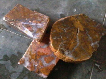Batu Akik Merah Kotor No 36 harga bahan batu akik aroka murah berkualitas jual