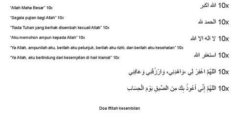 tutorial sholat dan bacaan bacaan doa iftitah dalam sholat yang benar dan macam doa