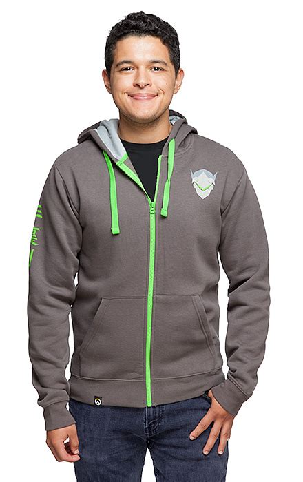 Sweater Overwatch Salsabila Cloth overwatch genji ultimate hoodie thinkgeek