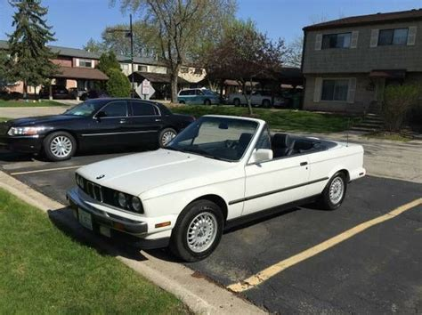 1990 bmw convertible 1990 bmw 325i convertible with top excellent