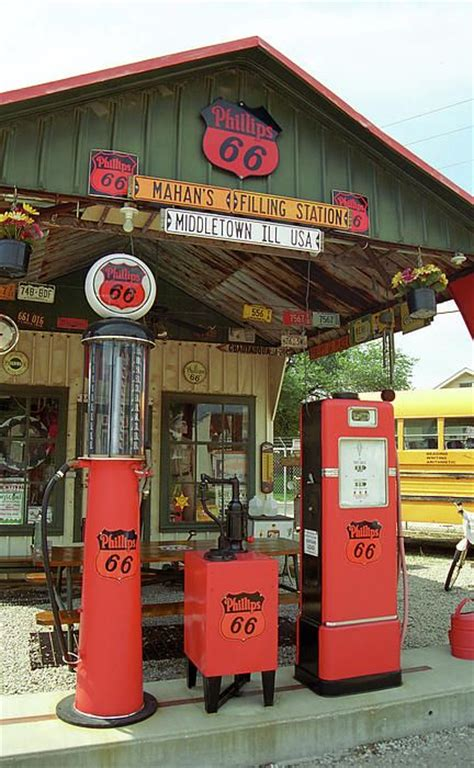 route 66 gas station route 66 shea s gas station print by frank romeo
