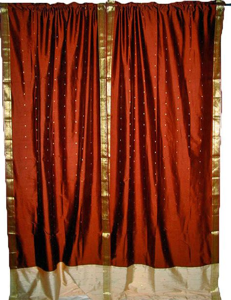asian window curtains home decor with indian sari curtains asian curtains