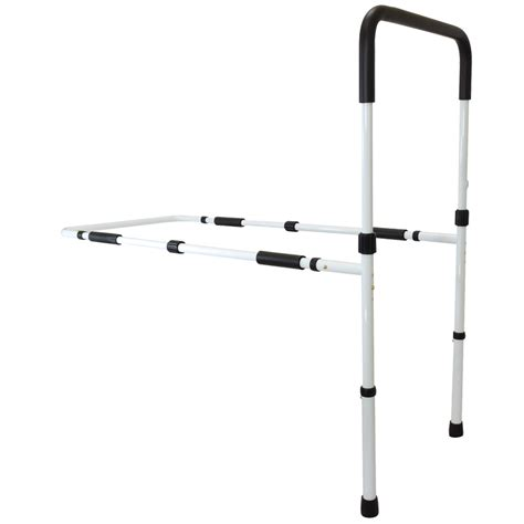 secure adjustable bed rail wfloor support secure