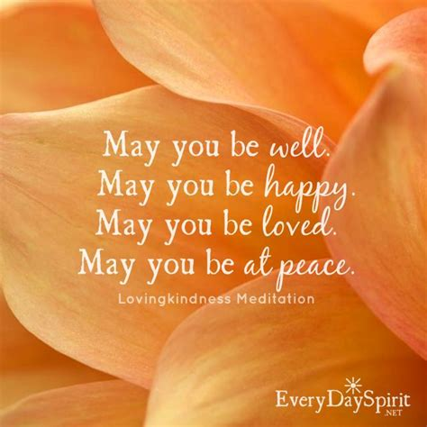 wishing  health happiness love  peace meditation