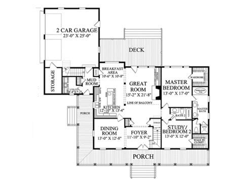 porch floor plans one story house plans with porch