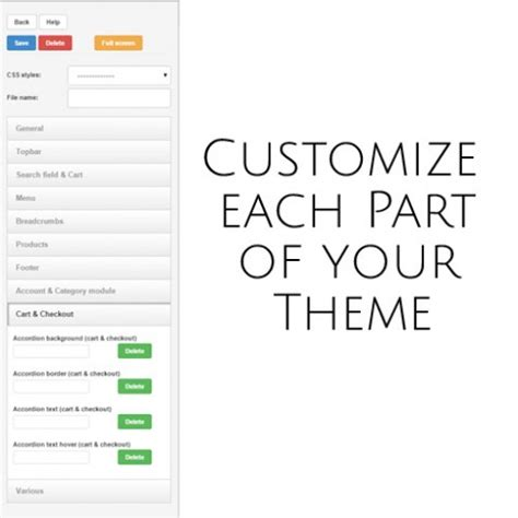 live theme editor opencart nulled opencart live theme editor