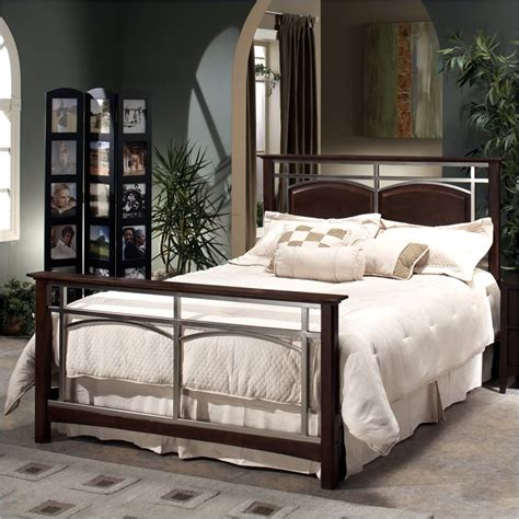 metal bedroom sets hillsdale banyan metal bed 4 pc nickel bedroom set ebay
