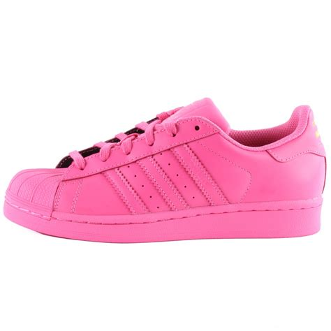 Adidas Superstar Ready adidas superstar pink trainers herbusinessuk co uk