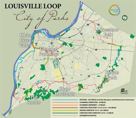 louisville loop map louisville loop louisvilleky gov