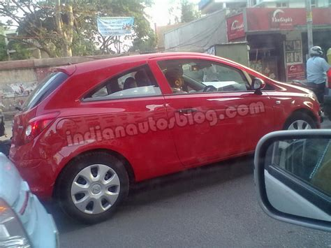 Remember Opel Corsa Latest Gen Caught Testing In Bangalore