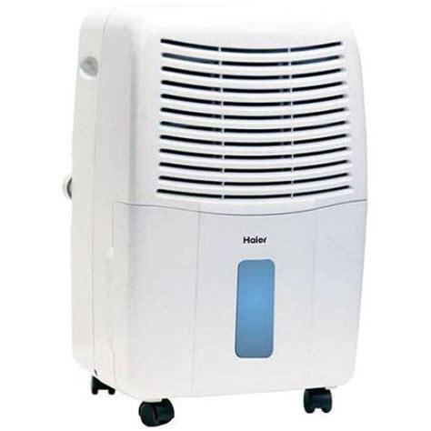 haier 65 pint dehumidifier for basements w drain white