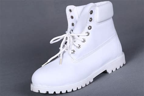 all white timberlands boots timberland s 6 inch premium boot all white