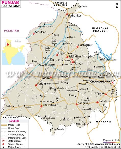 map of punjab travel to punjab tourism destinations hotels transport