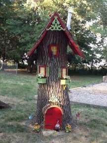 outdoor elf houses on pinterest fairy doors fairy