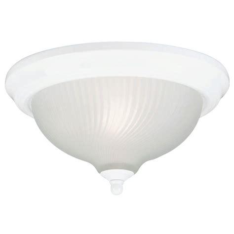 westinghouse 2 light ceiling fixture white interior flush