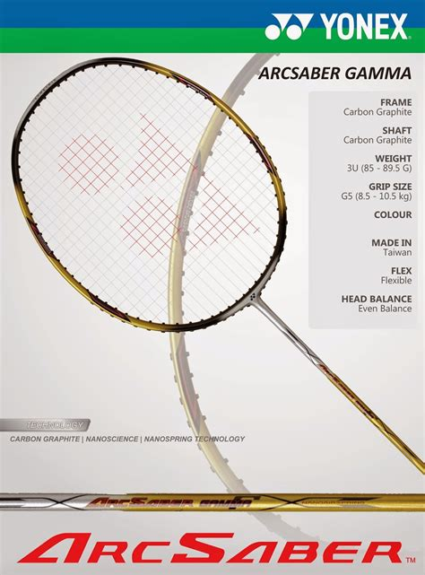 Raket Yonex 100 Ribuan jual raket badminton yonex arcsaber gamma 100 original