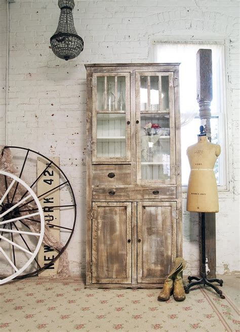 shabby chic farmhouse painted cottage chic shabby farmhouse cabinet shabby chic