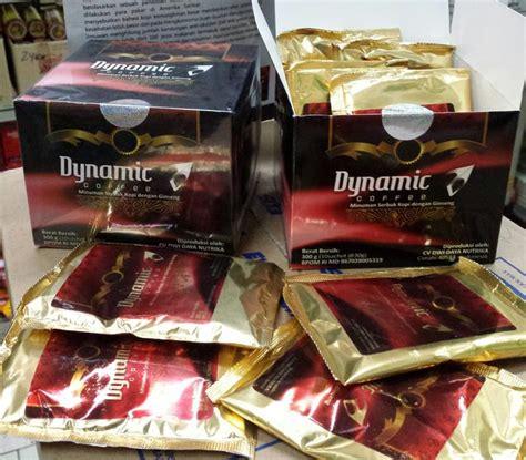 kopi dynamic herbal stamina dan ginseng kuat pria untuk
