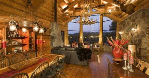 big sky montana  luxurious log cabins   market