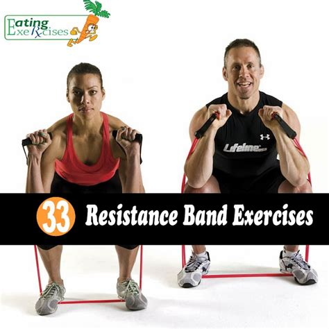 resistor rock band 33 resistance band exercises and exercises
