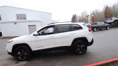 cherokee jeep 2016 white 2016 jeep cherokee latitude bright white clearcoat