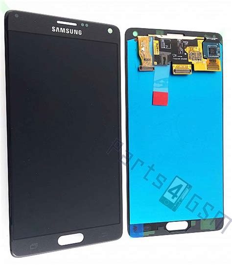 Lcd Note 4 samsung n910f galaxy note 4 lcd display module black gh97 16565b parts4gsm