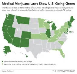 Medical Marijuana States Map by This Map Shows Just How Quickly America Has Embraced