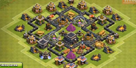 layout coc farming th6 best th 6 design joy studio design gallery best design