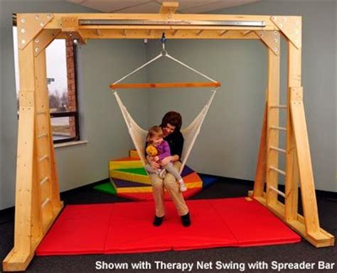 indoor therapy swing frame 99 best images about sensory motor room on pinterest