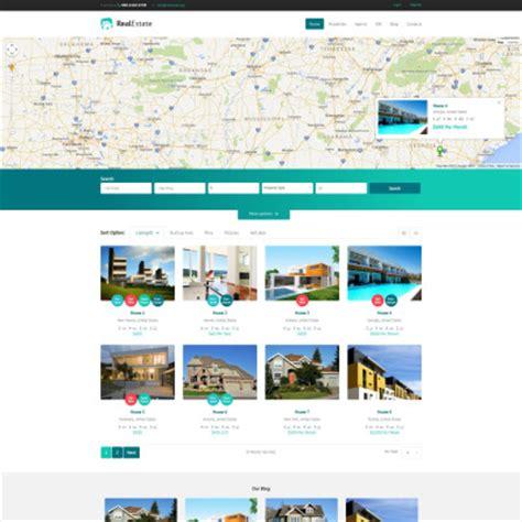 bootstrap themes free real estate wordpress real estate themes
