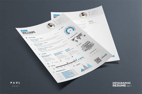 Infographic Resume Template Docx Free 28 Minimal Creative Resume Templates Psd Word Ai Free Premium Templateflip