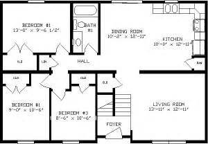 Floor Plans For 1100 Sq Ft Home by 1100 Sq Ft House Plans Apex Homes Modular Home Floor