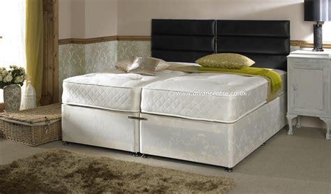 zip it bed serene hotel contract 1500 pocket 5ft king size zip link
