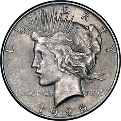 1925 silver dollar value 1925 american silver dollars peace type