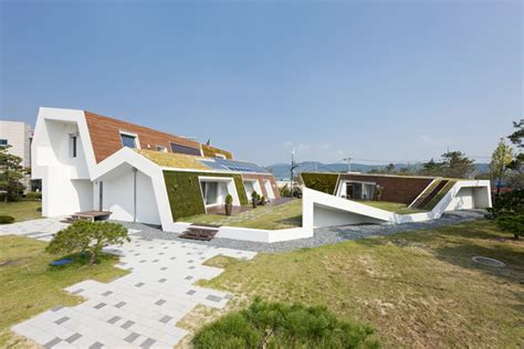 environmental houses e green home unsangdong architects archdaily