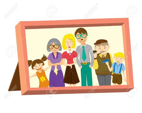 clipart foto family photo frame clipart clipartxtras