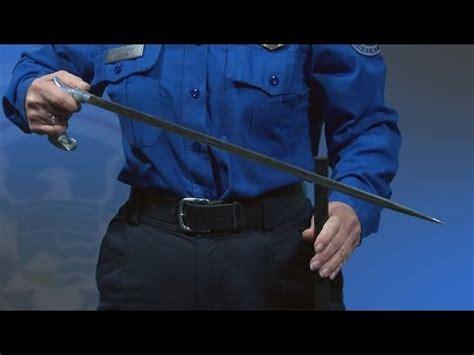 80 year surprised when tsa 80 year surprised when tsa finds sword inside