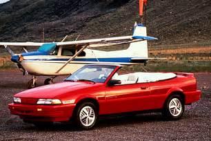 94 Pontiac Sunfire 1990 94 Pontiac Sunbird Consumer Guide Auto