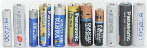 Pile Rechargeable Aaa 2012 by Battery Test Review Aa Aaa Individual Tests