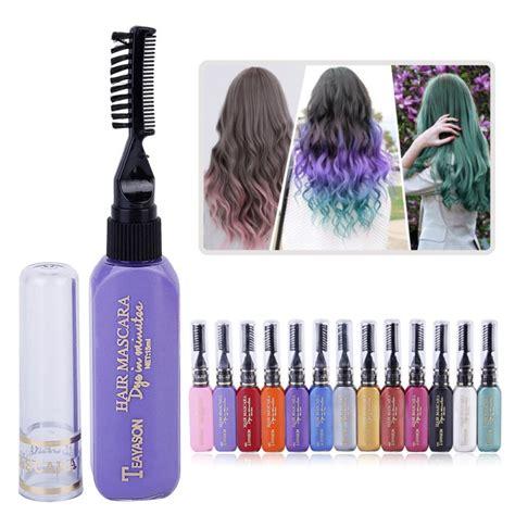 temporary hair dye product one time hair color hair dye temporary non toxic diy hair
