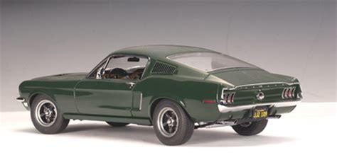 Ford Mustang Autoart by 1968 Ford Mustang Gt Bullitt Steve Mcqueen Autoart 1 18